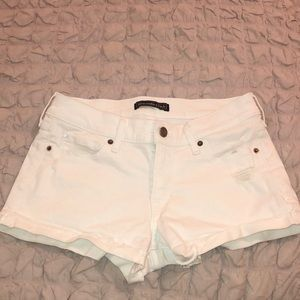 Abercrombie and Fitch shorts White